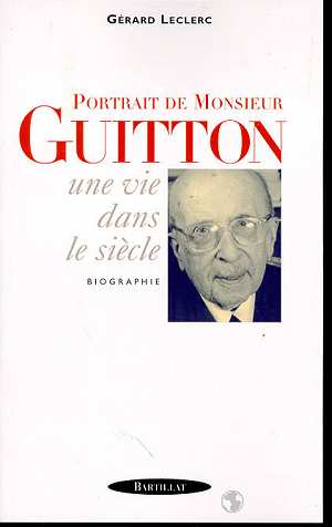 Portrait de Monsieur Guitton