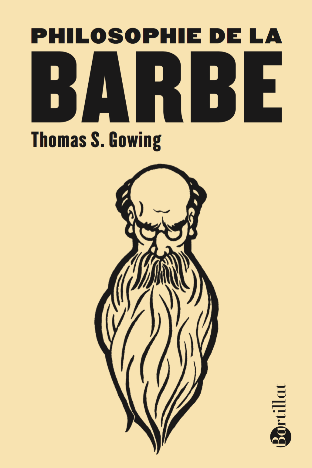 Couverture Philosophie de la barbe - Thomas S. Gowing